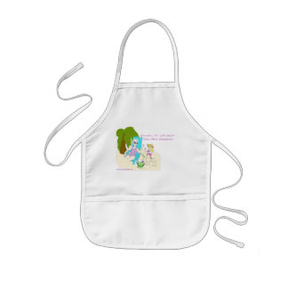 American Granny Looks Newer Child's Apron