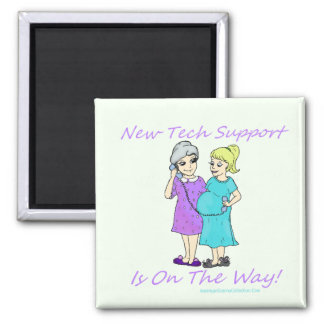 American Granny Tech Support Magnet