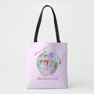 American Granny's Bucket List Tote Bag