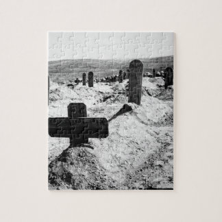 American graves.  Cuba, ca. 1898_War Image Jigsaw Puzzle