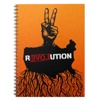 American Greassroots Peace r3VOLution Notebook