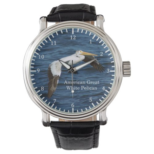 American Great White Pelican watch