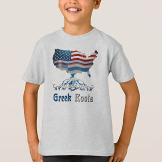 American Greek Roots Children's T-Shirts