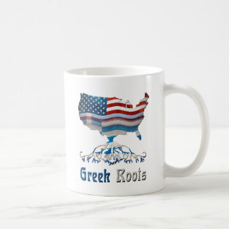 American Greek Roots Coffee Mug