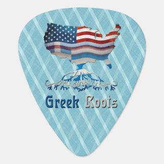 American Greek Roots Guitar Pick