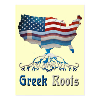 American Greek Roots Postcards