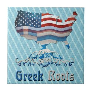 American Greek Roots Tile
