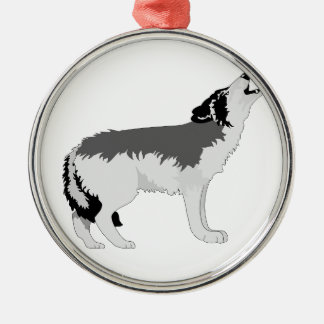 American Grey Wolf Destiny Nature Ornament