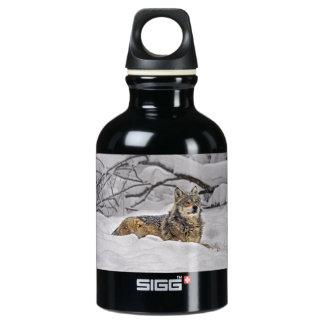 American Grey Wolf SIGG Traveler 0.3L Water Bottle