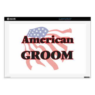 American Groom Decal For Laptop