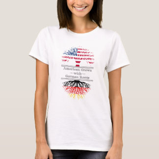 American Grown With German Roots Great Gift T-Shirt