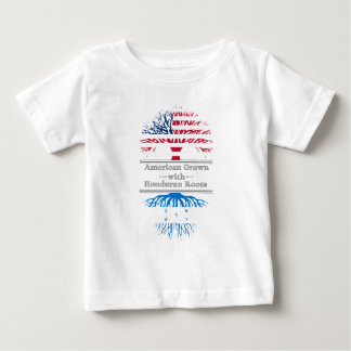 American Grown With Honduran Roots Great Gift Baby T-Shirt