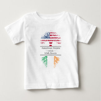 American Grown With Irish Roots Great Gift Baby T-Shirt