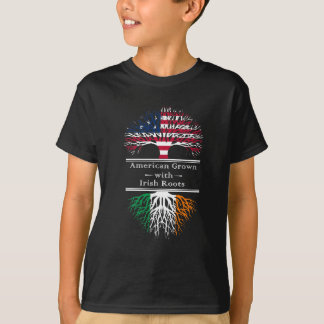 American Grown With Irish Roots Great Gift T-Shirt
