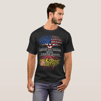 American Grown With Spanish Roots T-Shirt
