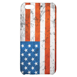 American Grunge Flag 4G Case Cover For iPhone 5C