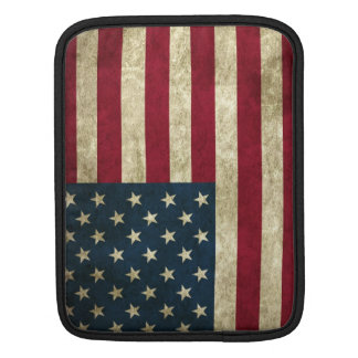 American Grunge Flag Sleeve For iPads