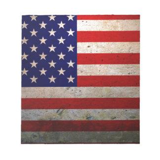 American Grunge Notepad