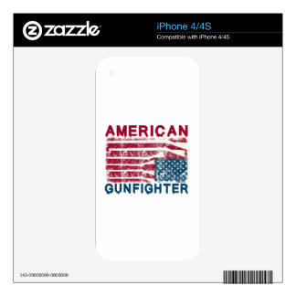 AMERICAN GUNFIGHTER SKINS FOR iPhone 4S