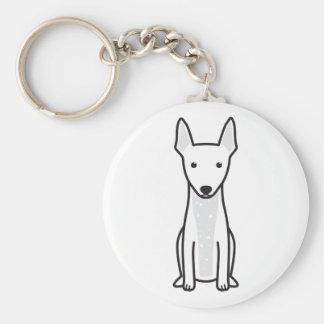 American Hairless Terrier Key Chain