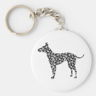 American Hairless Terrier Key Chains