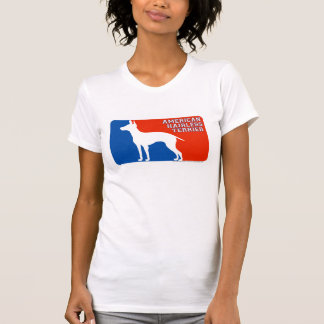 American Hairless Terrier Major Leage Dog T-Shirt
