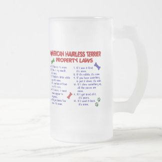 AMERICAN HAIRLESS TERRIER Property Laws 2 Coffee Mugs