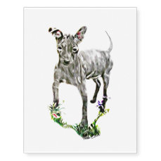 American Hairless Terrier Temporary Tattoos