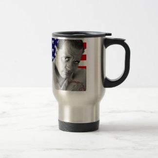 American hamlet, Jason Wing. Travel Mug