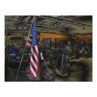 American Harley Davidson Posters