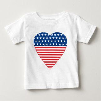 American Heart Baby T-Shirt