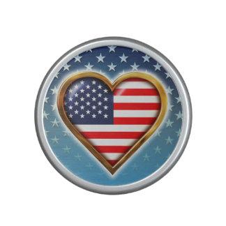 American Heart Bluetooth Speaker