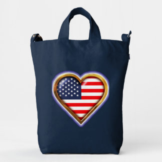 American Heart Duck Bag