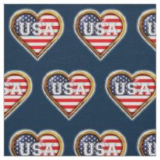 American Heart Fabric