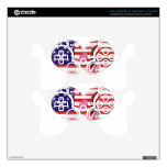 American Heart Flag and Corkscrew stiletto Shoe PS3 Controller Skins