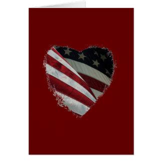 American Heart Flag Cards