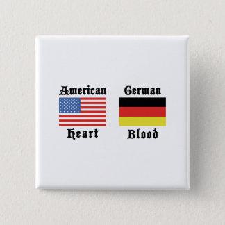 American Heart German Blood Button