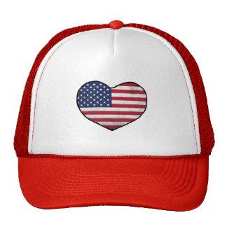 American Heart Trucker Hat