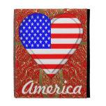 American Heart iPad Folio Cover