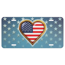 American Heart License Plate