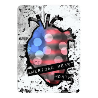 american heart month card
