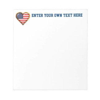 American Heart Notepad