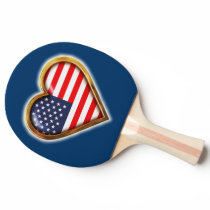 American Heart Ping-Pong Paddle
