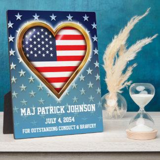 American Heart Plaque