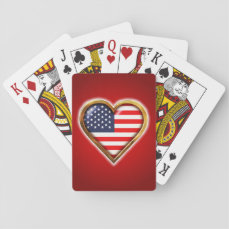 American Heart Playing Cards