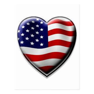 American Heart Postcard