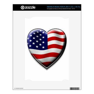 American Heart NOOK Decals