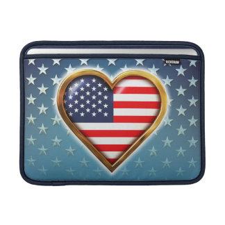 American Heart Sleeves For MacBook Air