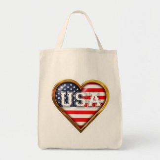 American Heart Tote Bag