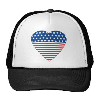 American Heart Trucker Hat